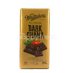 Whittaker's 72% Cocoa Dark Ghana Chocolate