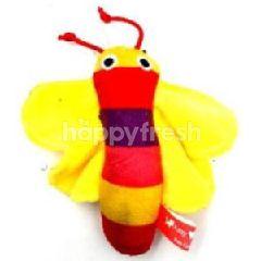 Amy N Carol Catnip Toy-Butterfly (Yellow)