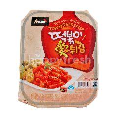 แซงวอน ต็อกบ็อกกิผัดซอสและปอเปี๊ยะสาหร่าย