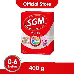 SGM Ananda 1 Susu Formula Bayi 0-6 Bulan
