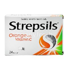 Strepsils Sore Throat Lozenges (24 Lozenges)