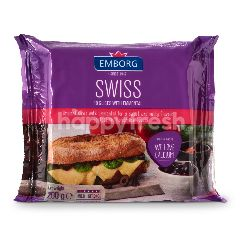 Emborg Swiss Slices Emmental Cheese