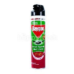Baygon Anti Nyamuk, Lalat & Kecoa Wangi Cherry Blossom Double Nozzle Technology