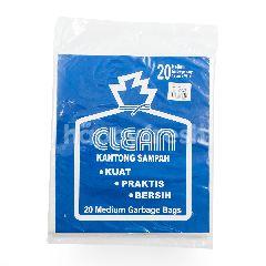 Clean Kantong Sampah Putih Medium 55cm x 69cm