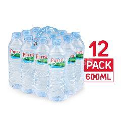 เพอร์ร่า น้ำแร่ธรรมชาติ 600 มล. (แพ็ค 12)
