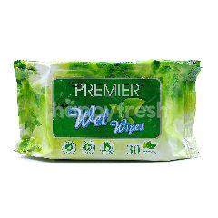 Premier Wet Wipes (30 Pieces)