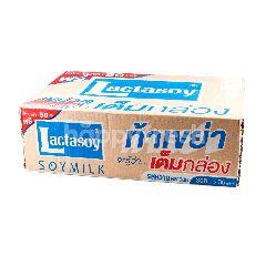 แลคตาซอย นมถั่วเหลือง รสหวาน 300 มล. (แพ็ค 36)