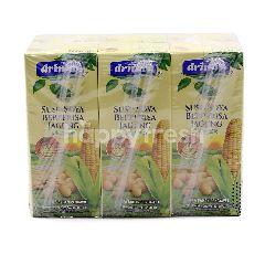 Drinho Corn Flavoured Soy Milk (6 Packs)