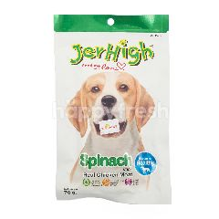 Jerhigh Makanan Anjing Stik Rasa Bayam