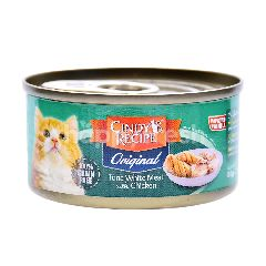 CINDY RECIPE Tuna White Meat With Chicken Cat Food