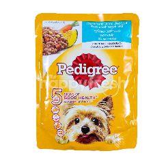 Pedigree Makanan Anjing Rasa Ayam dan Hati Panggang dengan Sayuran