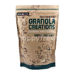Granola Creations Authentic Toasted Muesli Buah Tropikal & Kacang-Kacangan