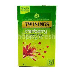 Twinnings Cranberry Green Tea (20 Bags)