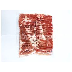 Food Diary Pork Belly Slice (Size 3 mm.) 1 kg