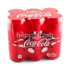 โคคา-โคลา โค้ก กระป๋อง 325 มล. (แพ็ค 6)