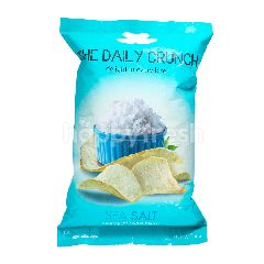The Daily Crunch Keripik Talas Garam Laut Premium