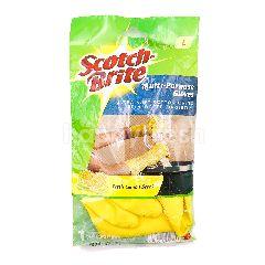 Scotch-Brite Multi Purpose Gloves - Fresh Lemon Scent