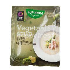 Chung Jung Won Krim Sup Sayuran