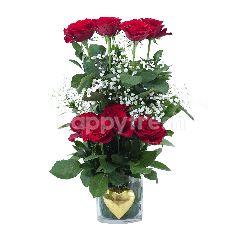Emme Florist Classic Rouge