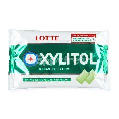 ล็อตเต้ ไซลิทอล หมากฝรั่งปราศจากน้ำตาล กลิ่นไลม์ มิ้นต์ 11.5 กรัม
