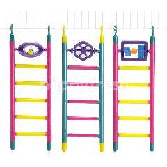 BeezTees Ladder Parakeet (6 Steps)