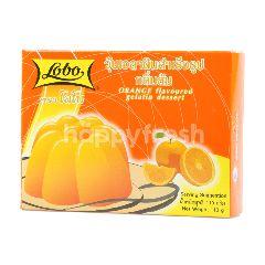 โลโบ้ วุ้นเจลาตินสำเร็จรูป กลิ่นส้ม