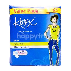 Kotex Soft & Smooth Slim (Regular Flow) Wing