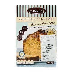 YES YOU CAN Tepung Premiks Roti Pisang Bebas Gluten & Bahan Susu