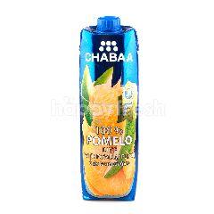 ชบา น้ำส้มโอ 100%