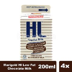 Marigold Hl Low Fat Chocolate Milk Fourpack