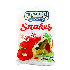 The Natural Confectionery company Fruit Flavour Jelly Snakes
