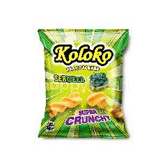 Koloko Pea Crackers Seaweed Flavoured