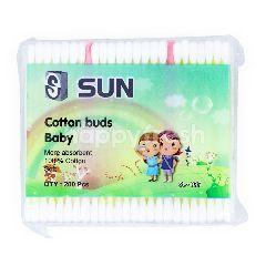 Sun Cotton Buds Bayi