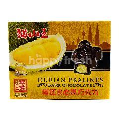 Durian Kingdom Durian Pralines Dark Chocolate