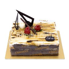 Clairmont Caramel Lux Cake 15x15