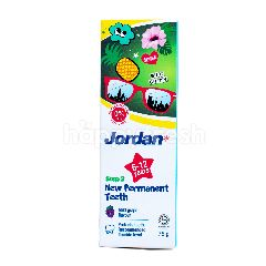 Jordan Pasta Gigi Gigi Permanen Baru Tahap 2