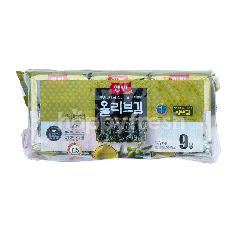 Dongwon Yangban Nori dengan Minyak Zaitun