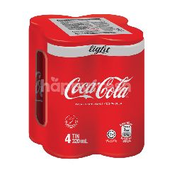 Coca-Cola Light Carbonated Soft Drink 4x320ml
