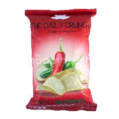 The Daily Crunch Keripik Talas Pedas Cabe Jalapeno Premium