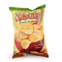 Kusuka Keripik Singkong Lemon Pedas