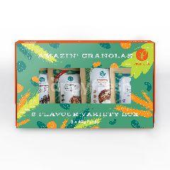 Amazin Graze Variety Granola In Box