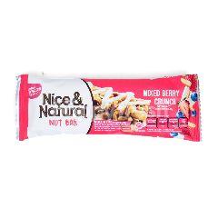 Nice & Natural Bar Kacang dengan Berry Crunchy