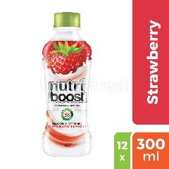 Nutriboost Minuman Rasa Stroberi 12-Pack