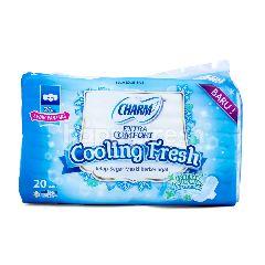 Charm Pembalut Extra Comfort Cooling Fresh Sayap