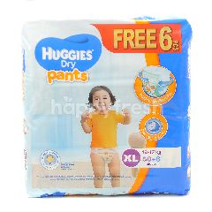 Huggies Dry Pants Mega Pack Diapers XL50+6
