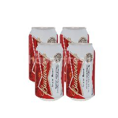 Budweiser Beer Can Gift Pack (355mlx4)