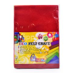 Renown A4 Eco Felt Craft Paper (10 Pieces)