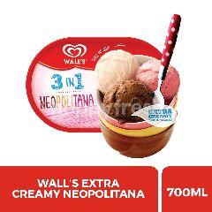 Wall's Es Krim Neopolitana Extra Creamy Twinpack