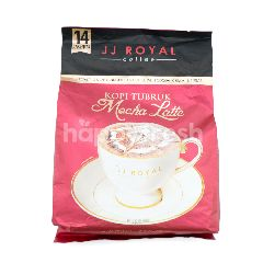 JJ Royal Tubruk Mocha Latte Instant Coffee (14 sachets)