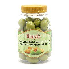 Beryl's Almond Coated With Green Tea Chocolate